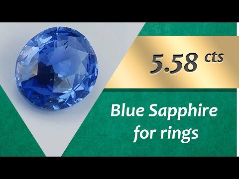 Blue Sapphire Rings: Design Unique Rings with Blue Sapphire 5.58 Carats