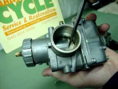 Randy's Cycle Service Explains Carburetors, Choke & Cold Starting - vintage motorcycles @ rcycle.com