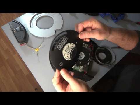 2 iRobot Roomba 500 and 600 Series Circle Dance 9 Beep Bumper Error Full Disassembling Part 2