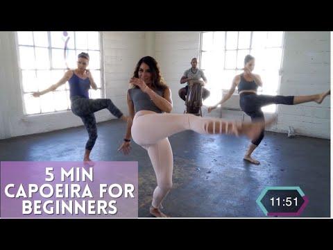 Learn Basic Capoeira Kicks In 5 Minutes | Brazilian Warrior Workout