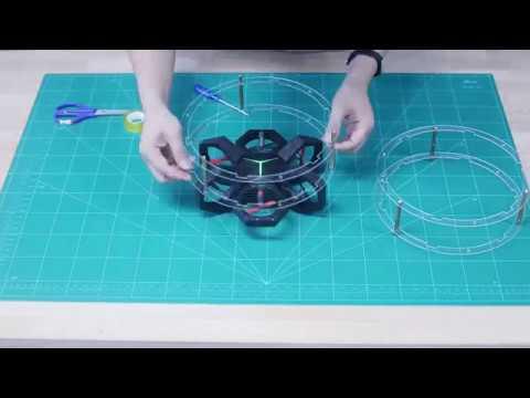 Airblock DIY Tutorial: Cartwheeling Drone