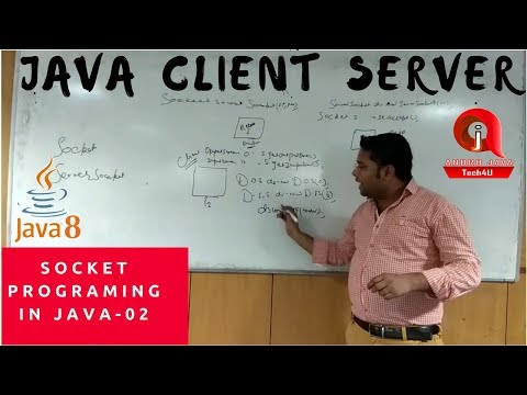 Socket Programming in Java Hindi Tutorial-02