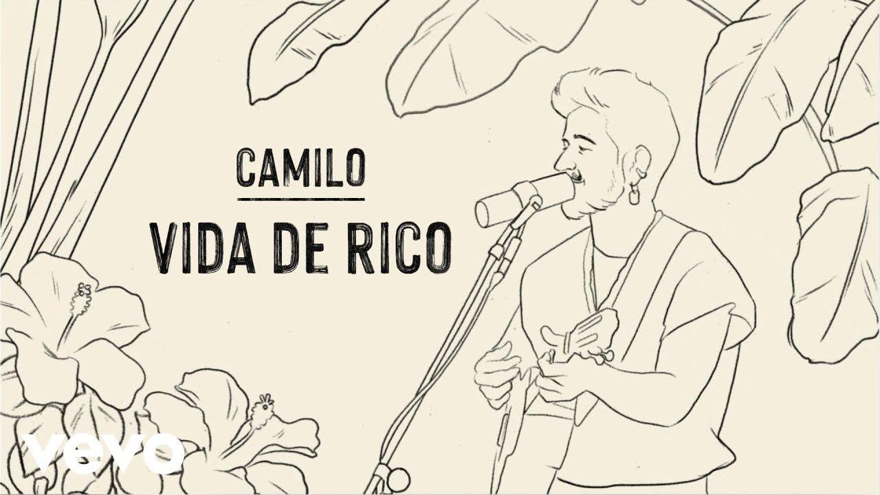 Download Camilo - Vida de Rico (Official Lyric Video) MP3 Gratis
