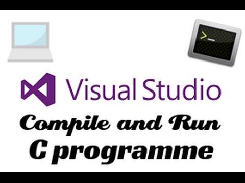 How to Compile & Run C program in Visual Studio 2015/2017