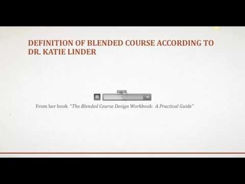 TedEd Lesson Blended Course Definition