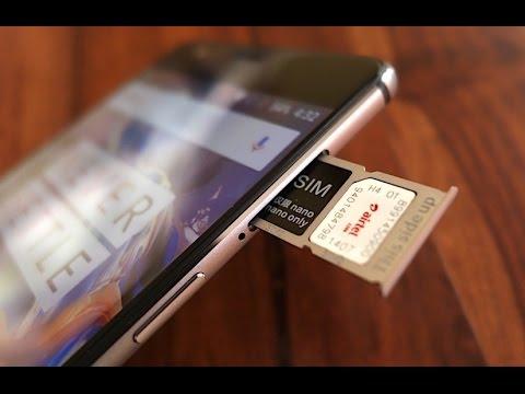 OnePlus 3 - How to Put Nano SIM Cards