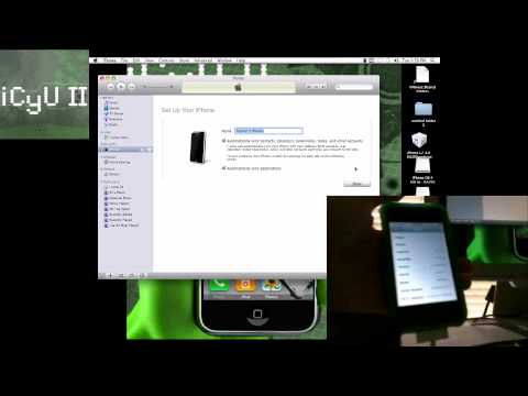 Get Firmware 4.0 on iDevices and JAILBREAK iPhone 3g On 4.0!