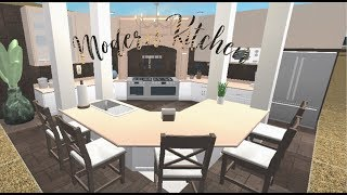 Modern Kitchen 37k Speedbuild Roblox Bloxburg