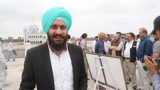Kartarpur Corridor: Indo Pak Border to Gurudwara vlog journey to kartarpur by Governor Punjab Pak