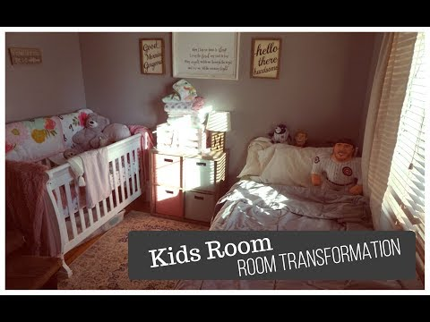 Room Transformation & Reveal   The Kids Room