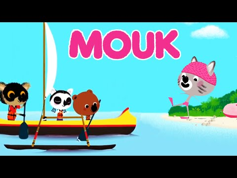 Mouk - Shipwrecked! (Madagascar) and the Salt Lake (Turkey) | Cartoon for kids