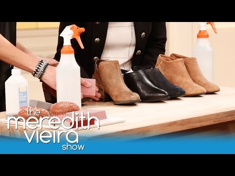 Turn Your Leather Shoes Into Suede! | The Meredith Vieira Show