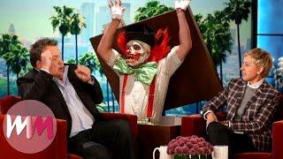 Top 10 Pranks On The Ellen DeGeneres Show