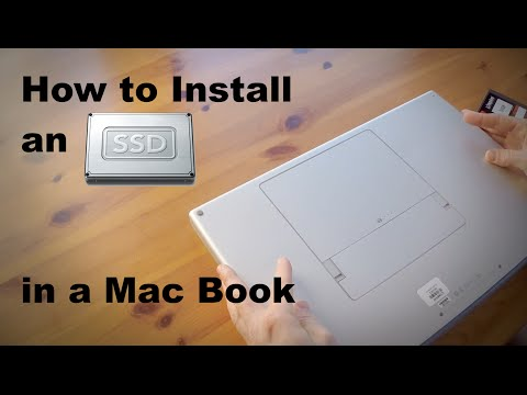 Upgrading your Mac Book Pro to SSD - a step by step guide.