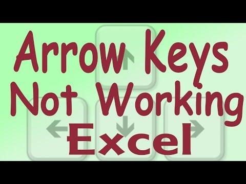 Up Down Arrow Keys Are Not Woking In Excel