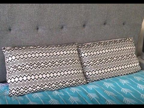 Zippered Pillow Case - Beginners Sewing Tutorial