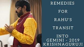 Rahu transit in Gemini 2019 for ALL MOON SIGNS - PakVim net