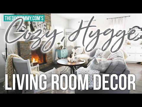 Cozy, Hygge Winter Living Room Decor Ideas