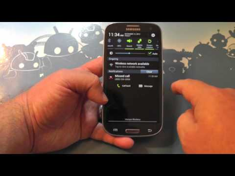 Android 4.1 Jelly Bean on the Verizon Samsung Galaxy S3