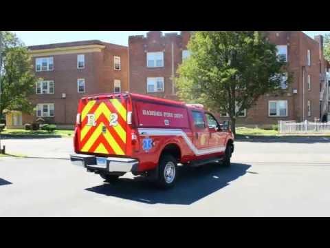 Hamden Ct Fire Rescue 2 Responding