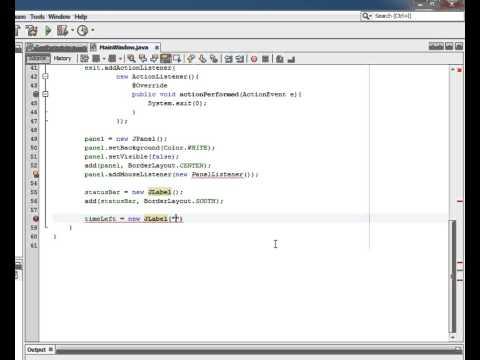 Java Tutorial Creating a Clicker Count Program