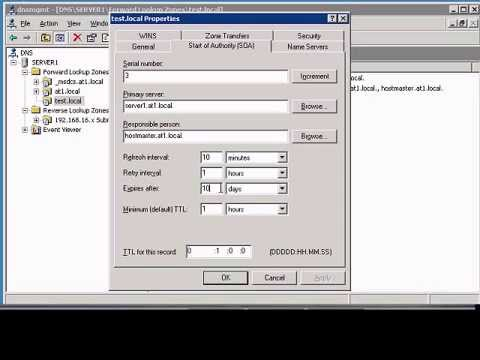 Change expiration time for a DNS record in Windows DNS manager