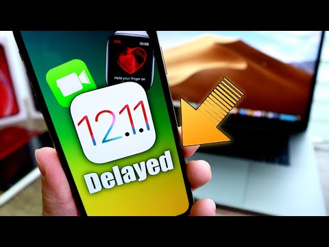 iOS 12.1.1 DELAYED | Major New Feature Coming