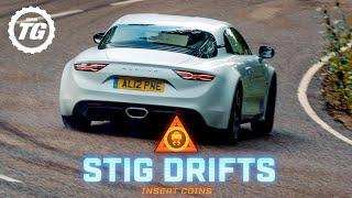 STIG DRIFTS: Alpine A110; is 248bhp enough to drift? | Top Gear
