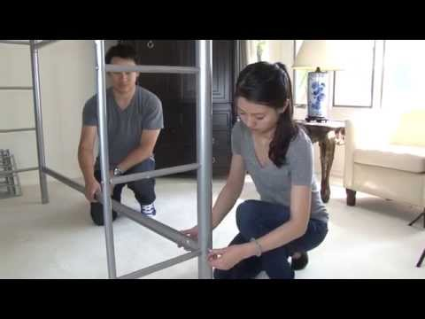 Twin/Twin Bunk Bed Assembly