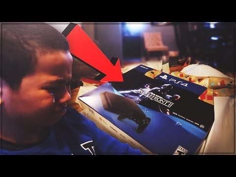 9 YEAR OLD BROTHER GETS A FAKE PS4 FOR CHRISTMAS PRANK! HE BROKE DOWN IN TEARS! *VERY EMOTIONAL*