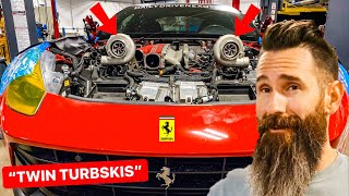 Aaron Kaufman Builds 1200 HP FERRARI TWIN TURBO F12 for DDE: Episode 1