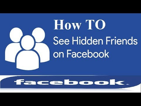 How to See Hidden Friends of Someones on Facebook !! Facebook Trickes