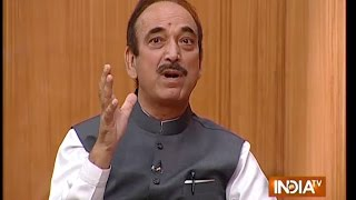 Ghulam Nabi Azad: Separatists Will Be Thrown Out  from Kashmir Very Shortly - India TV