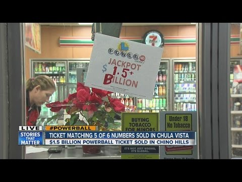 Chula Vista 7-Eleven sells Powerball ticket matching 5 numbers