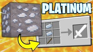 If PLATINUM ORE Was Added to Minecraft