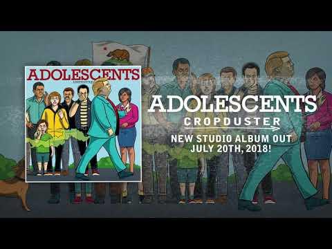 ADOLESCENTS - QUEEN OF DENIAL (Album Track) - Concrete Jungle Records