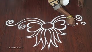 Happy New Year Rangoli Design Gallery 102