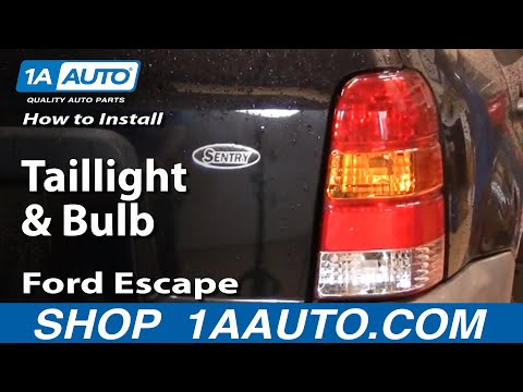 How To Install Replace Taillight and Bulb Ford Escape 01-07 1AAuto.com