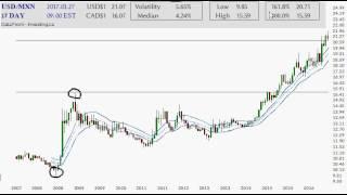 Did Donald Trump crash the Mexico Peso?  MXN/USD Charts