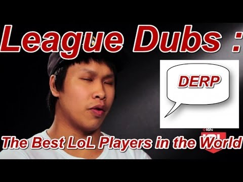 League Dubs : Parody The Best LoL Players In The World