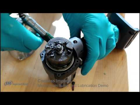 How to properly lubricate your cordless impact gun - Ingersoll Rand W5130