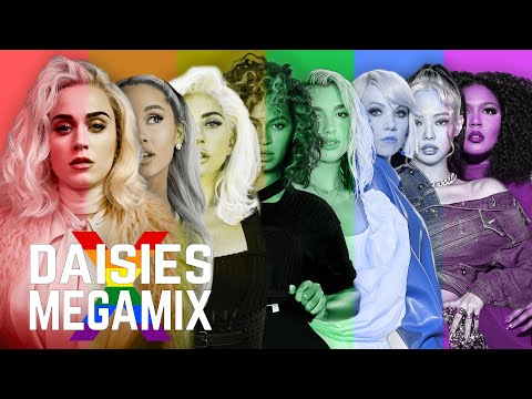 DAISIES (Pride Megamix) | Katy Perry ft. Ariana Grande, Lady Gaga, BLACKPINK, Beyoncé, Lizzo & more