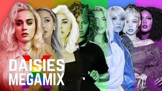 DAISIES (Pride Megamix) | Katy Perry ft. Ariana Grande, Lady Gaga, BLACKPINK, Beyoncé, Lizzo & more