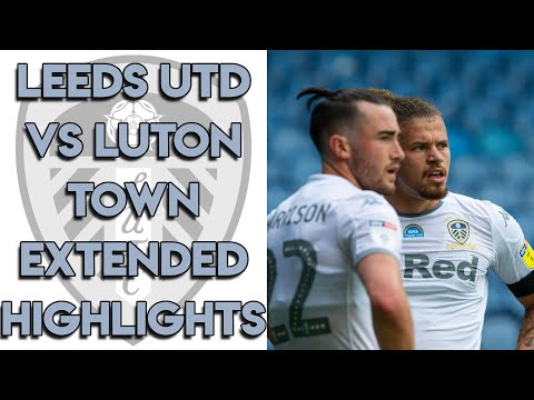 Leeds United 1-1 Luton Town Extended Highlights - Championship 30/06/20