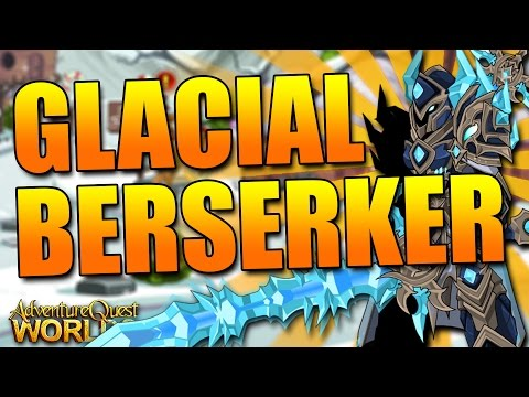 How to get NEW Glacial Berserker CLASS FREE AQW AdventureQuest Worlds