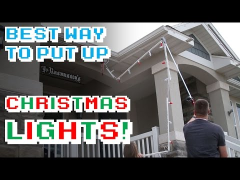 The Best Way to Put Up Christmas Lights