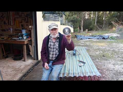 The BEST and CHEAPEST tool to cut ROOFING (corrugated) IRON!