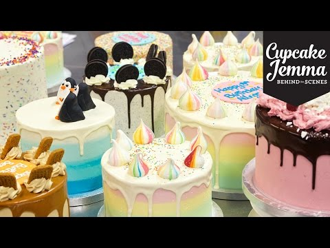 #madeforyou Behind the Scenes Tour of Crumbs & Doilies Bakery | Cupcake Jemma