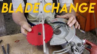How to Change the Blade on a Skil Saw