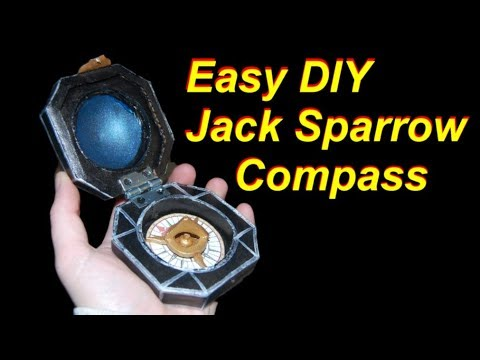DIY Jack Sparrow Compass (Cheap and Easy - Cardboard)